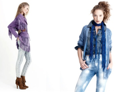 Le jean bleach