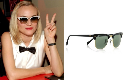 Ray-Ban Clubmaster - Diane Kruger