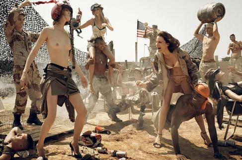 Steven Meisel pour Vogue