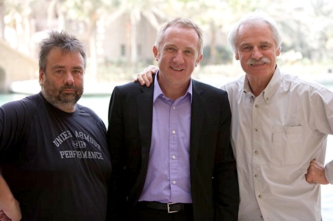 Luc Besson, Francois Henri Pinault & Yann Arthus Bertrand