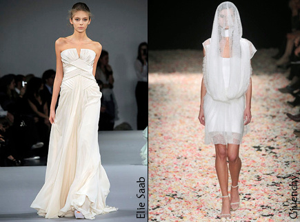 Robes de mari�e 2009
