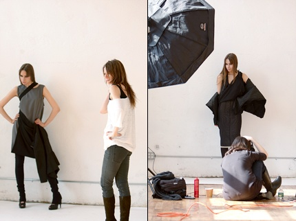 Karolina Zmarlak - Making of