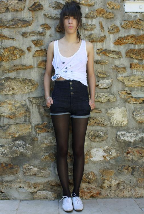 Célèbre Le cropped tee-shirt - Tendances de Mode XM75