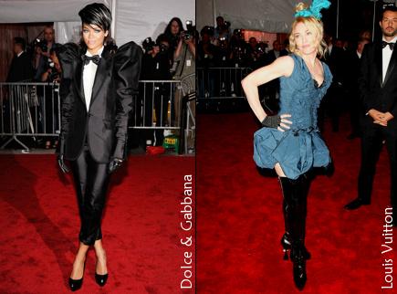 Rihanna et Madonna