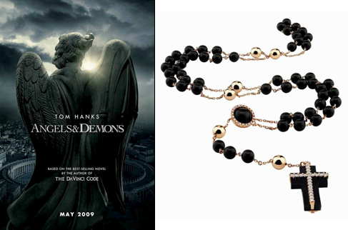 Les bijoux d'Anges et Démons