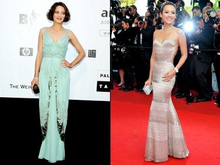 Les robes de Cannes 2009