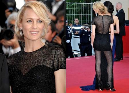 Robin Wright Penn à Cannes