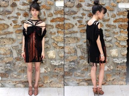 La robe frang�e