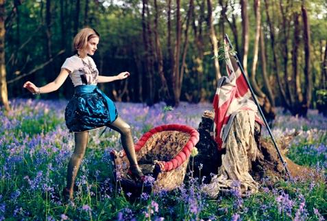 Emma Watson chez Teen Vogue