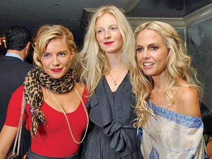 Sienna Miller, Savannah Miller & Rachel Zoe