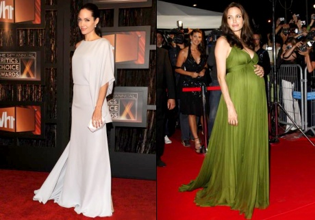 Angelina Jolie en Max Azria