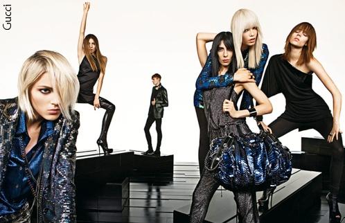 Jamie Bochert - Campagne Gucci