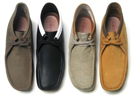 Les chaussures Clarks
