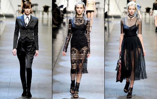 D�fil� Dolce & Gabbana 2010