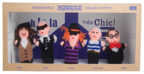 Les Finger Puppets de Rubbish