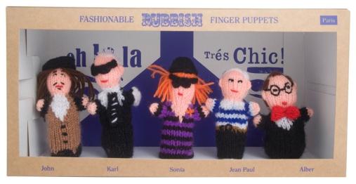 Les Finger Puppets de Rubbish