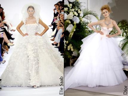 Robes de mariées 2010