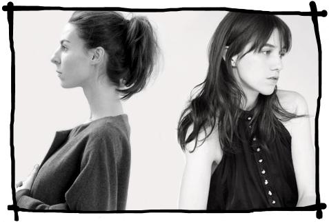 Charlotte Gainsbourg et moi