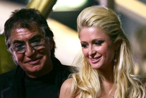 Roberto Cavalli et Paris Hilton