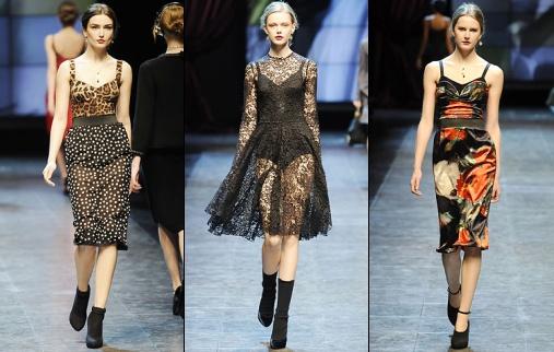 Défilé Dolce & Gabbana 2011