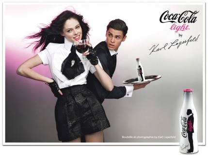 Karl Lagerfeld x Coco-Cola Light