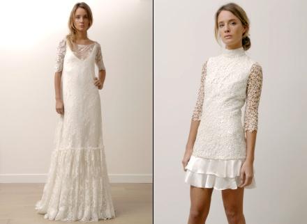 У невесты гораздо больше возможностей: она может выглядеть в день свадьбы.