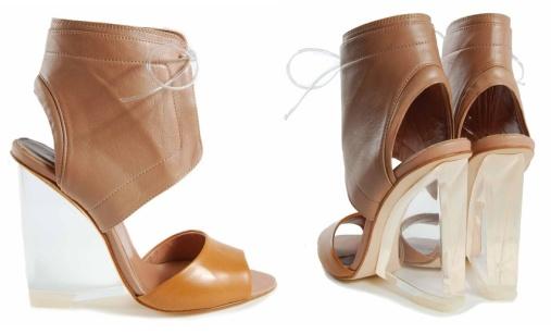 Sandales compensées Cacharel