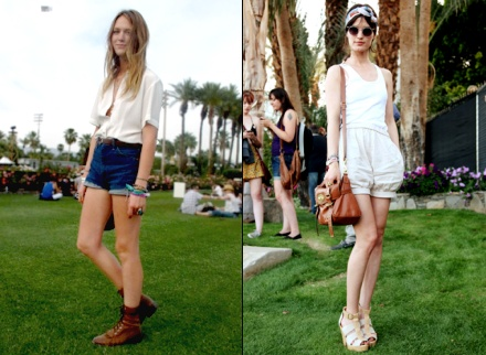Les looks de Coachella 2010