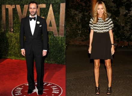 Tom Ford & Frida Giannini