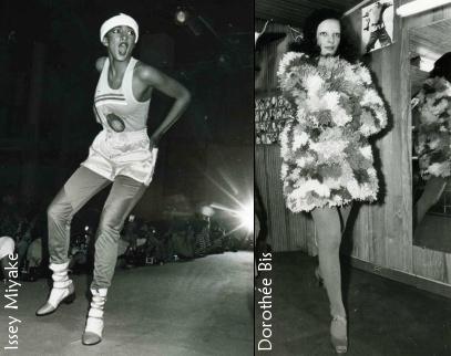 Défilé Issey Miyake & Dorothée Bis