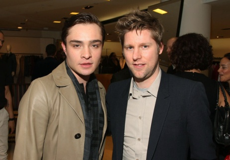 Christopher Bailey & Ed Westwick