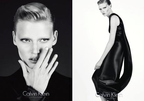 Lara Stone x Calvin Klein