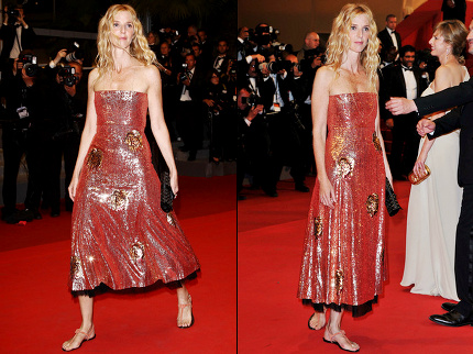 Sandrine Kiberlain � Cannes