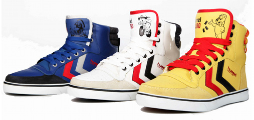 Sneakers Hummel x Haribo
