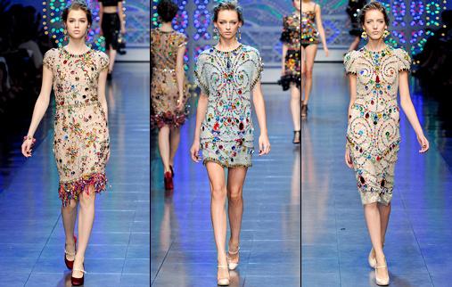 Défilé Dolce & Gabbana 2012