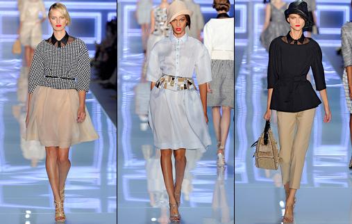 D�fil� Dior - Printemps/�t� 2012