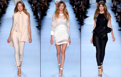 D�fil� Givenchy 2012