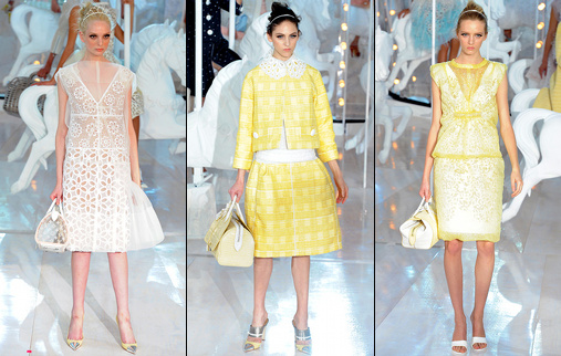 Défilé Louis Vuitton 2012