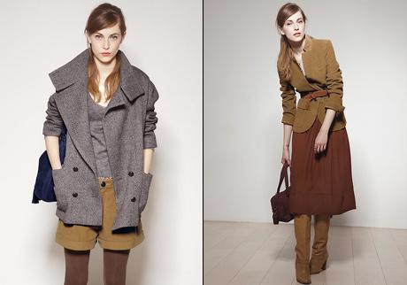 Comptoir des cotonniers collection automne hiver 2011 - Manteau comptoir des cotonniers hiver 2012 ...