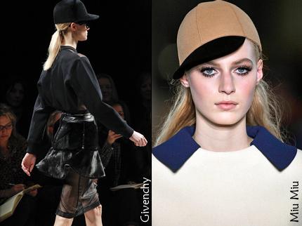 Casquette Givenchy/Miu Miu
