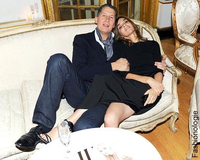 Carine Roitfeld & Stefano Tonchi