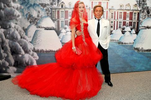 Valentino Garavani & Natalia Vodianova