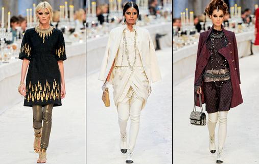 Défilé Chanel Paris-Bombay
