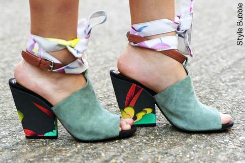 Le ruban de chaussure