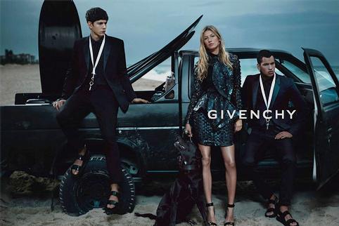 Campagne Givenchy �t� 2012 - Gisele Bundchen