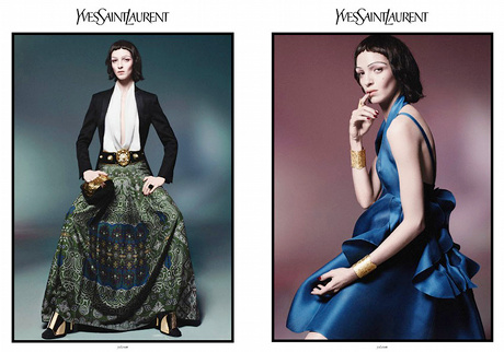 Campagne Yves Saint Laurent 2012