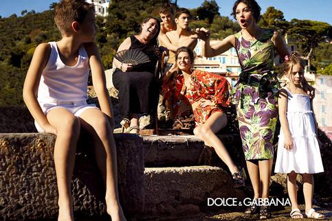 Campagne Dolce & Gabbana 2012