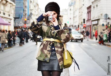 La veste camouflage