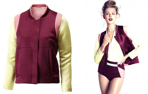 Blouson color block H&M