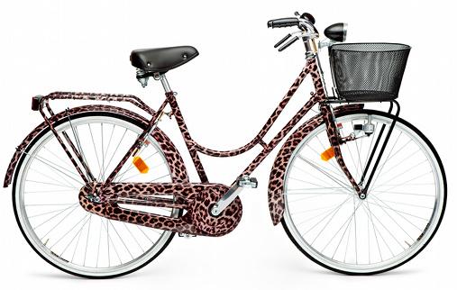 Vélo léopard Dolce&Gabbana